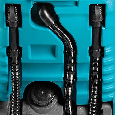 Operazioni di scarico dei reflui facile e veloce con E100