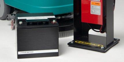 Batteria a litio per eureka E36 con caricabatteria rapido