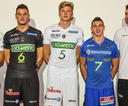 Eureka è sponsor del libero Fabio Balaso Kioene Padova Pallavolo DNAbianconero